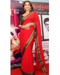 Vidya Balan Red Saree bollywoodsotres: Ref B613