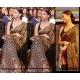 Aishwarya rai black gold saree bollywoodstores: Ref B604