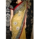 Rani Mukherjee net yellow saree: Ref B620