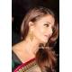 Aishwarya Rai Bachchan green gold red saree: Ref B609