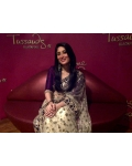 Kareena Kapoor Royal Purple and White Saree: Ref B600