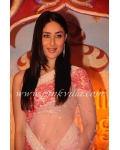 Kareena kapoor baby pink and purple saree: Ref B624