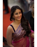 Kareena kapoor pink and purple saree: Ref B623
