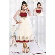 Bollywoodstores Valetines Anarkali: Ref B629