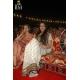 sonakshi sinha black, white, gold saree: Ref B612
