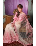 Pink Indian Bridal Saree: Ref 702
