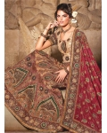 Ravishing Red Bridal Lehenga Choli: Ref 580