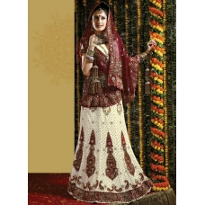 Elite Georgette Embroidered Lehenga Choli: Ref 577