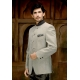 Mens Wedding Suit Indo-Western Black Grey: Ref E202