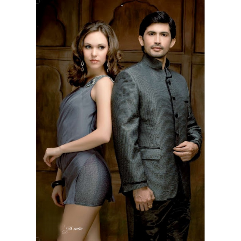 Grey Suits For Men Wedding Mens Wedding Suit Indo Western