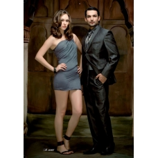 Mens Wedding Suit Indo-Western Grey: Ref E210
