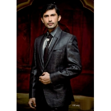 Mens Wedding Suit Indo-Western Elegant Grey Ref: E213