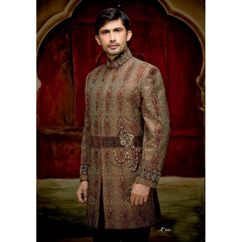 Mens Wedding Suit Indo-Western Prince Ref: E233