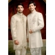 Mens Wedding Suit Indo-Western Arabian White Night Ref: E214