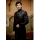 Mens Wedding Suit Indo-Western Black Night Ref: E212