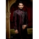 Mens Wedding Suit Indo-Western Royal Purple Plum Ref: E235