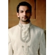 Mens Wedding Suit Indo-Western Elegant White Ref: E229